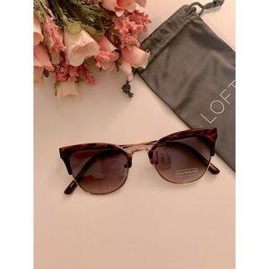 🆕 NWT LOFT Turtleshell Sunglasses